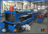 China Customizable Hydraulic Cutting Highway Guardrail Roll Forming Machine factory