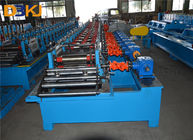 Roofing Making Machine Ridge Capping Roll forming Machine With 10-15 m/min Forming Speed supplier
