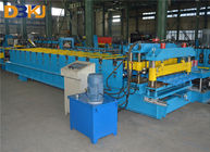 Self Lock Sheet Roof Roll Forming Machine , Roof Panel Roll Forming Machine supplier