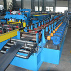 Shelving Rack Pallet Rack Step Beam Roll Forming Machine , Cold Roll Forming Equipment