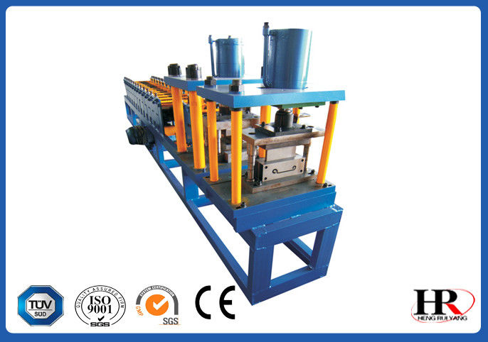 Color Steel Sheet Shutter Door Roll Forming Machine Full Automatically supplier
