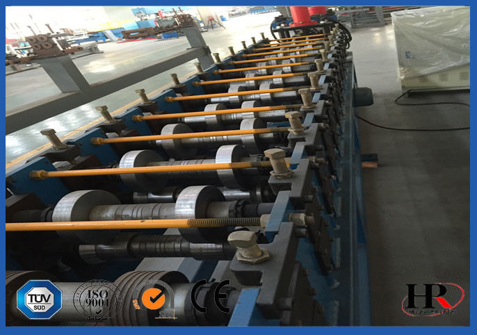 CNC Shelving / storage rack Sheet Metal Roll Forming Machines With Anti Rust Roller supplier
