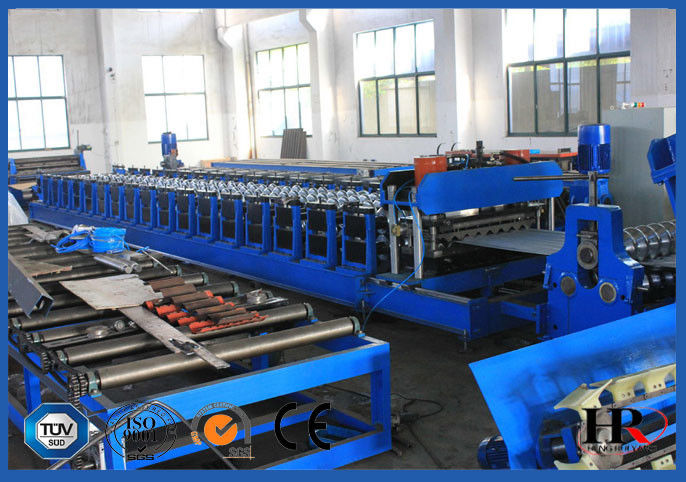 Steel Silo Making Machine , 4.5 Mm THK Grain Bin Silo Cold Roll Former