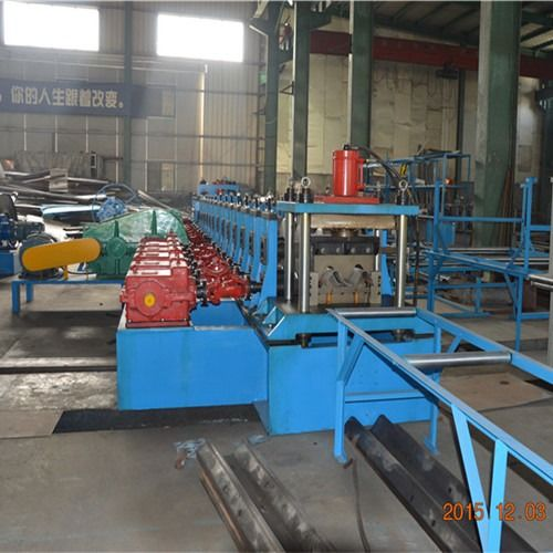 Heavy Duty Tri Beam And W Beam Guardrail Roll Forming Machine With High Speed supplier