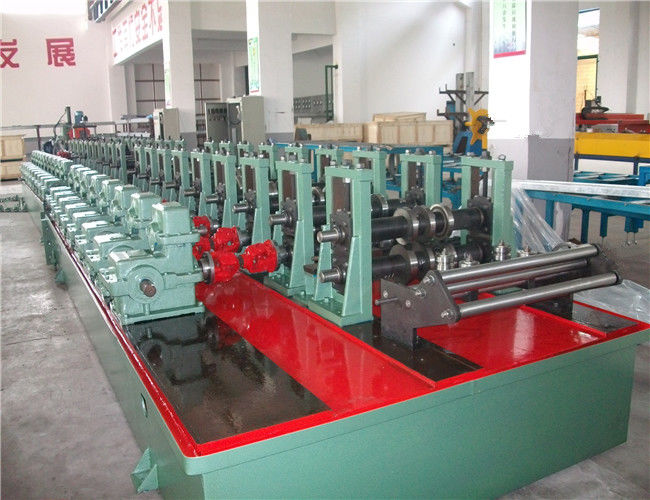 Automatic Pallet Rack Roll Forming Machine / Storage Metal Roll Forming Machine supplier