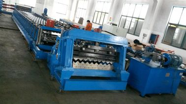 Hydraulic Roofing Sheet Forming Machine , Roll Forming Machinery