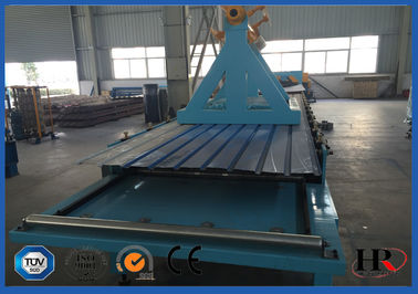 China Finished Steel Roof Tile Roll Forming Machine 25 M / Min High Production Capacity distributor