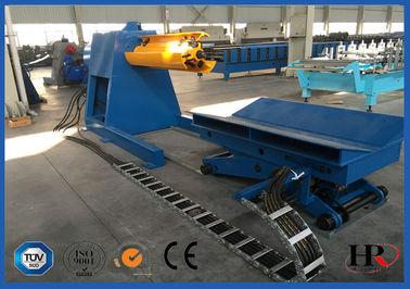 China Colored Glaze Steel 760 Roofing Sheet Roll Forming Machine Easy Installation distributor