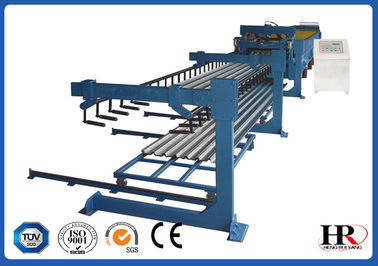 China Steel Structure Cold Roll Forming Machine Metal Deck Walk Scaffolding Steel Profile distributor