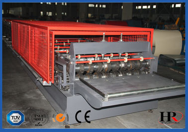 China Floor Deck Plate Cold Roll Forming Machine Plc Control Professional distributor