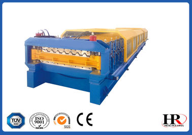 China Roof Double Layers Cold Roll Forming Machine , Color Steel Roll Forming Machine distributor