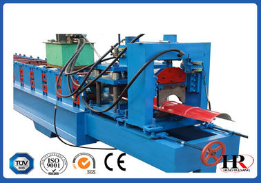 China Automatic Ridge Cap Roll Forming Machine 16Mpa Hydraulic Pressure factory