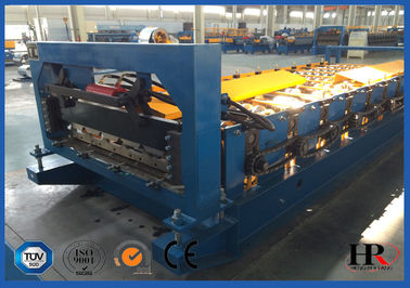 China Galvanized Steel Sheet Tile Roll Forming Machine for Traveling Scenic Spots distributor