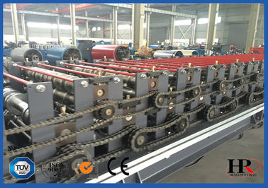 Roof Panel Double Layer Roll Forming Machine With 7 Inch Color Touch Screen