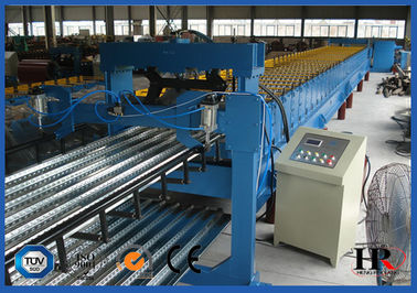 Customized Metal Deck Roll Forming Machine With Mechanical Decoiler