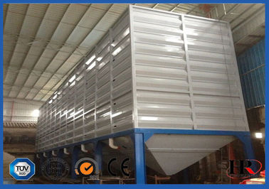 100 Ton Metal Tapioca Flour Storage Silo Machine With  Hot dip Galvanizing Coated