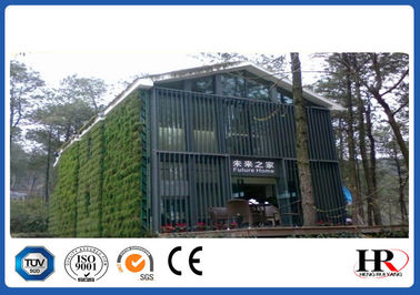 Customized Galvanized Prefabricated Light Steel Frame House For Warehouse / Showroom