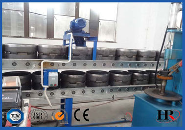 China Empty Gas LPG Cylinder Production Line Safely Tested 12.5kg / 15kg Effective distributor