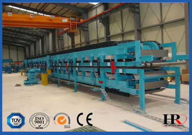 China Polyurethane Sandwich Panel Manufacturing Line , Metal Sandwich Panel Equipment distributor