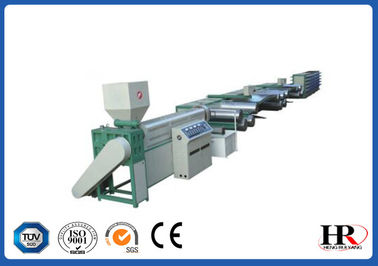 500KG/H Single Screw PP PE Film Recycle Plastic Granule Pelletizing Making Machine