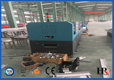 China Galvanized Light Steel Villa / Modern Prefab Houses  Making Roll forming Machine factory