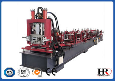 China Automatic Building Material C U Z Steel Purlin Profile Roll Forming Machine distributor