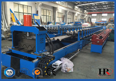 China Customizable Hydraulic Cutting Highway Guardrail Roll Forming Machine distributor