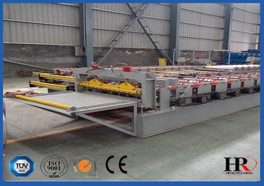 China Steel Structural Metal Sheet Floor Deck Panels Roll Forming Machine distributor