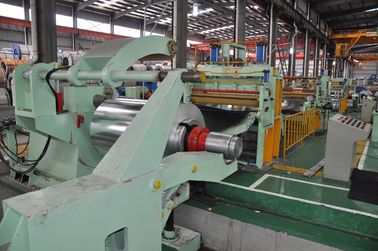 Hot / cold rolled coil, galvanized steel 0.5-3mm slitting line company