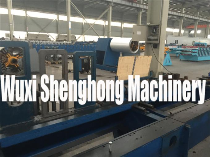 Stand Column Series Roof  Roll Forming Machine , Roof Sheet Making Machine
