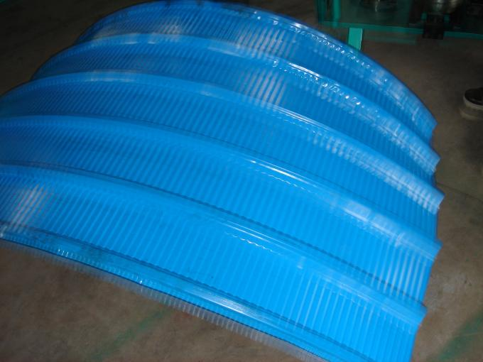 Galvanized Steel Roofing Sheet Making Machine 0.8 - 1.5 Mm Thickness