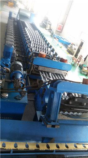 Electric Control Span Roof Tile Production Line High Tension Strength