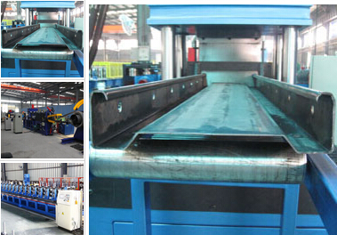 Well Known U C Channel Roll Forming Machine Work High Speed 4 Rollers
