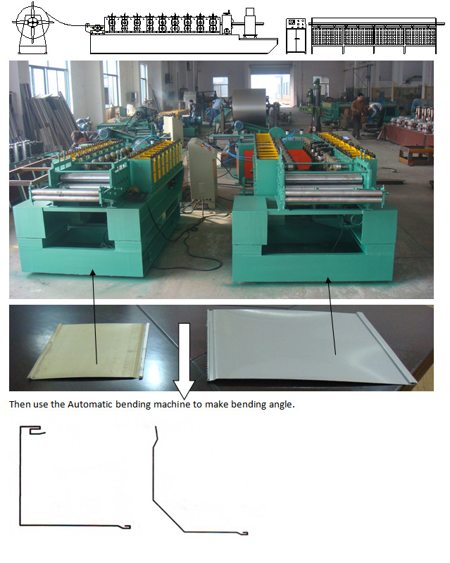 Saw Cutter PLC Control Cold Roll Forming Equipment For Shutters Box Series 0.8mm - 1mm