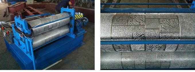 Interior / Exterior Decorative Panel Cold Roll Forming Machine High Speed With Uncoiler