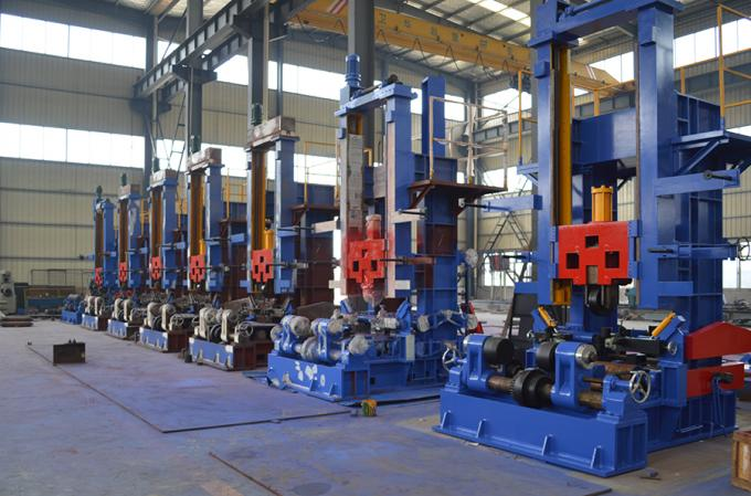 3 in 1 H Beam Combination Working Station Production Line
