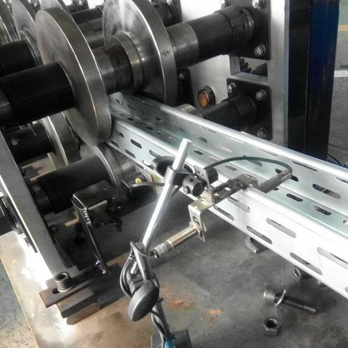 Galvanized steel Heavy Duty Cable Tray Roll Forming Machine High speed 10-18m/min