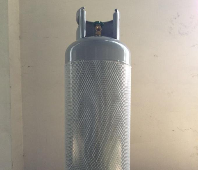 HP325 Steel 100lb Lpg Gas Tank / 1255mm Height Propane Gas Bottle