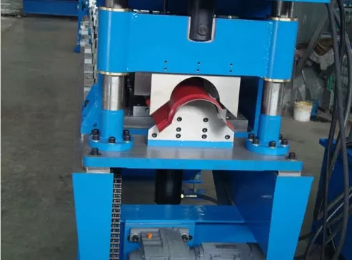 Roofing Making Machine Ridge Capping Roll forming Machine With 10-15 m/min Forming Speed 2