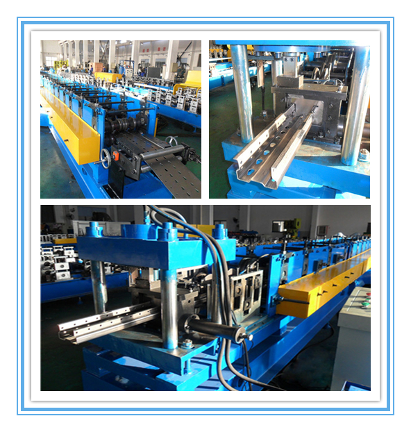 Automatic Pallet Rack Roll Forming Machine / Storage Metal Roll Forming Machine 2