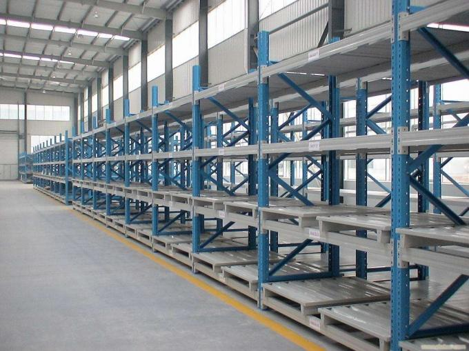 Shelving Rack Pallet Rack Step Beam Roll Forming Machine , Cold Roll Forming Equipment 4