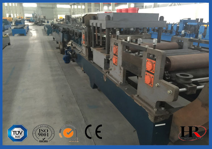 Punching / Cutting Cold Roll Forming Machine With Surface-treated Roller