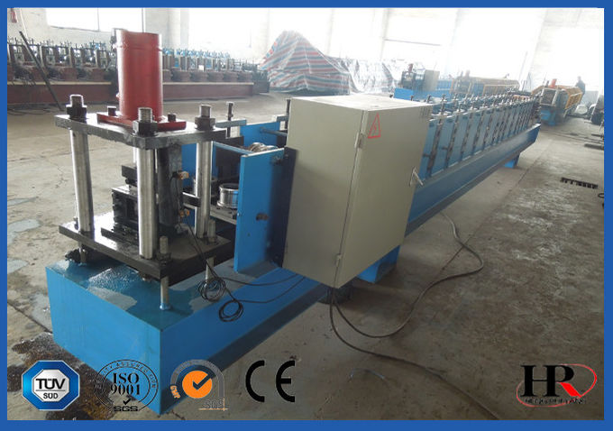 C / Z Interchage Purlin Cold Roll Forming Machine With Mitsubishi Transducers