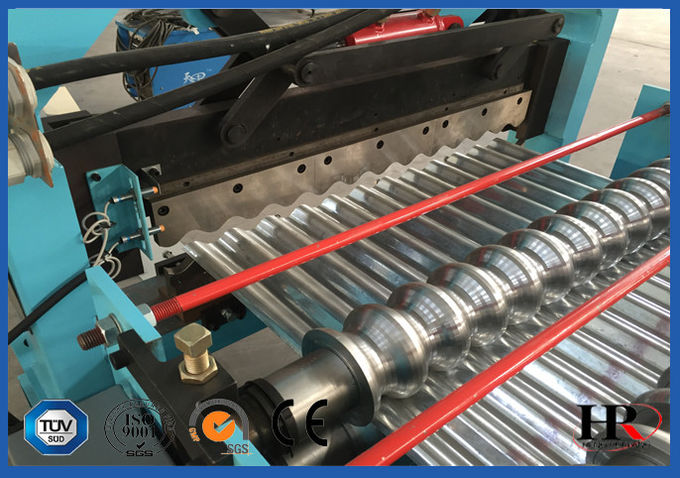 High Automation Roofing Sheet Roll Forming Machine Galvanized Steel PPGI PPGL