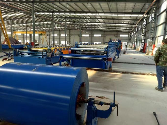 16 - 26 Stations Sheet Metal Roll Forming Machines with High Grade 45 # Steel