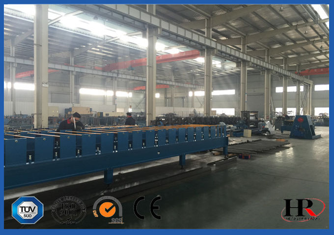 Steel Structural Floor Panel Cold Roll Forming Machinery Easy Control