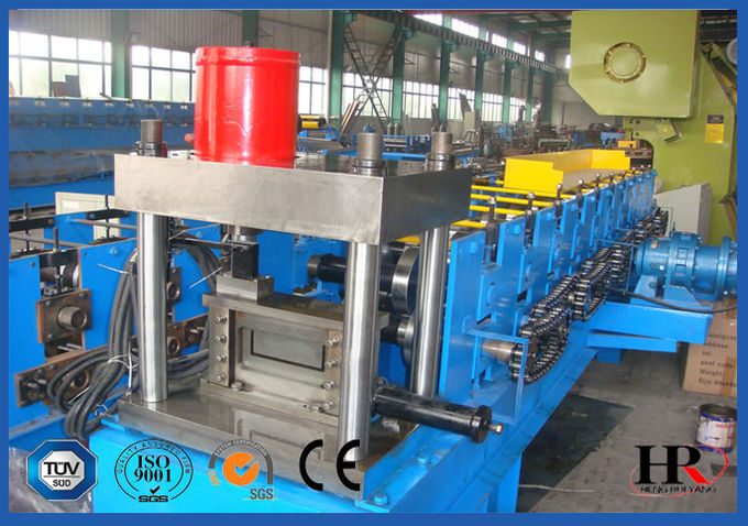 Low Cost U Shape Channel Roll Forming Machine With Stable Cutting