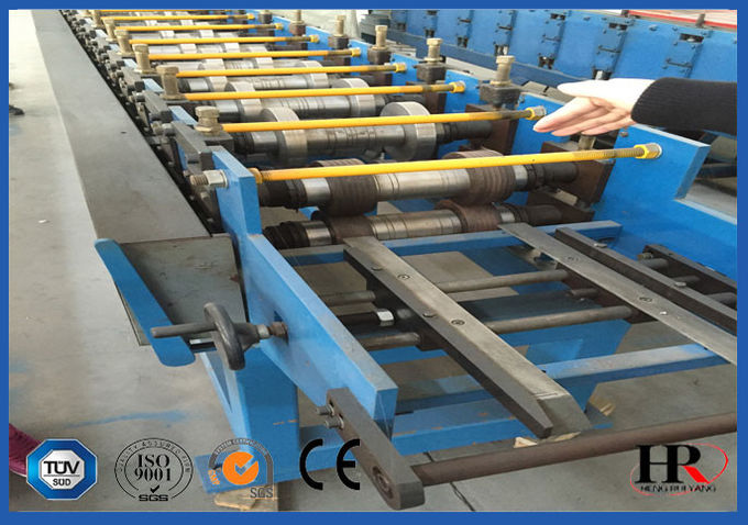 GI Cold Steel VCD Damper Frame Making Machine 1.5 Mm Thickness