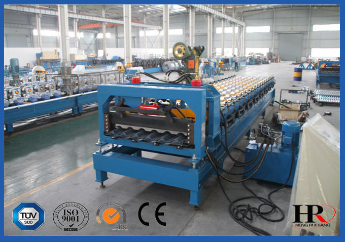 Frequently-used Tile Roll Forming Machine With Stable Supply Ability