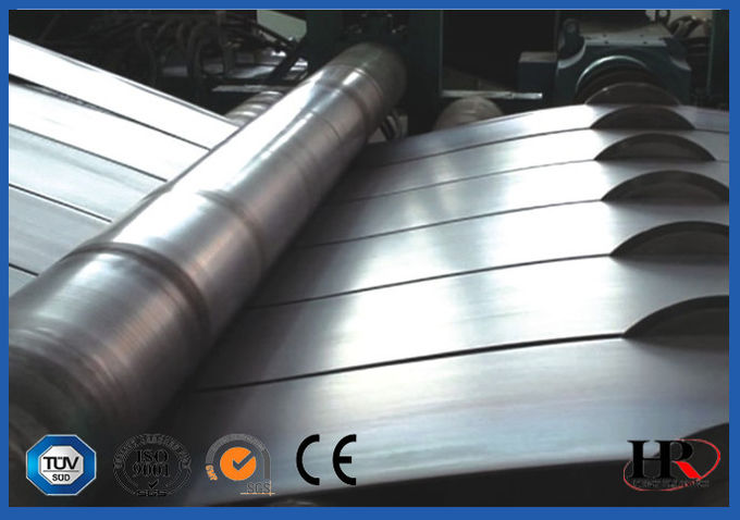 1.5mm Galvanized Steel Roll Form Equipment With Gcr 15 Roller